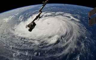 Meteo: uragano florence  clima  meteo