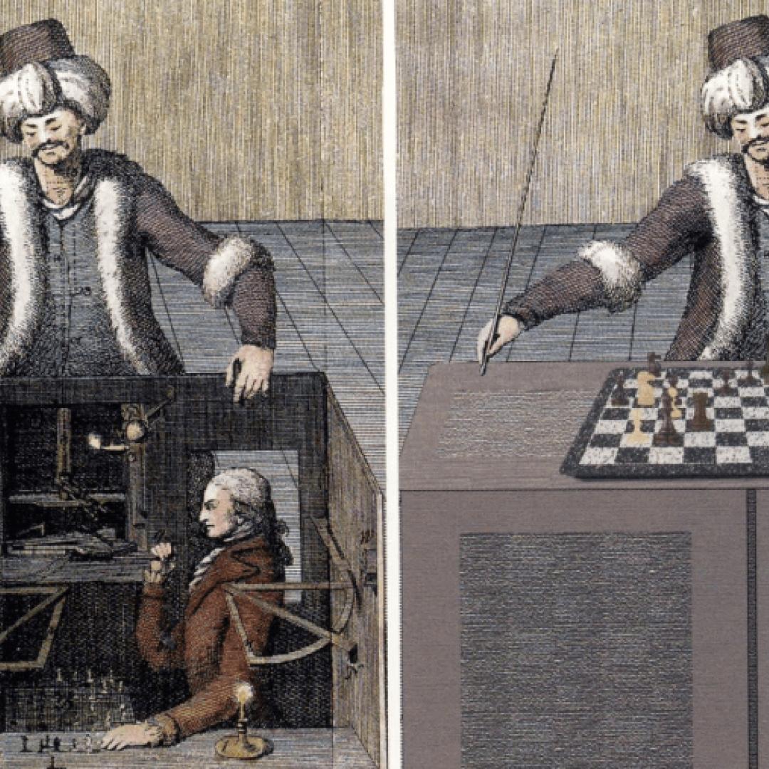 turco meccanico  scacchista  kasparov