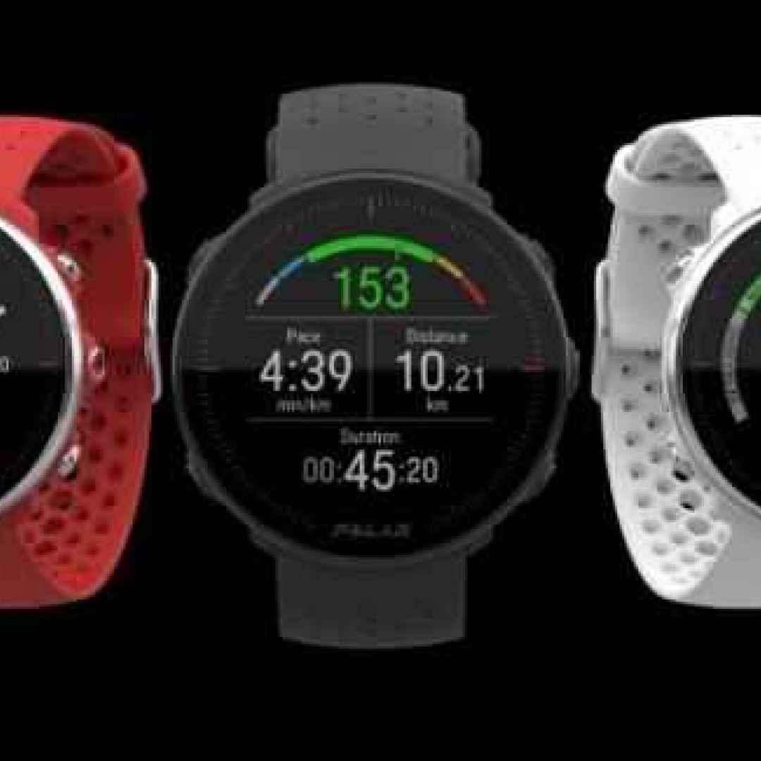 smartwatch  fitness  polar