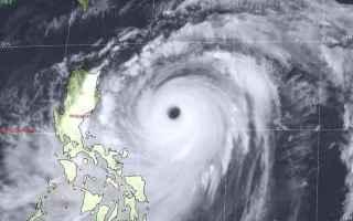 uragano  meteo  tifone