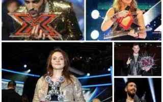 Televisione: x factor  concorrenti  vincitori