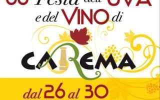 Torino: carema  uva  vino