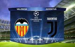 Champions League: juventus  valencia  champions league