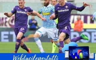Serie A: fiorentina spal formazioni serie a