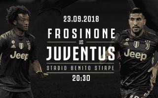 Serie A: FROSINONE - JUVENTUS in Diretta Tv e Streaming