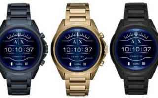 Gadget: armani  smartwatch