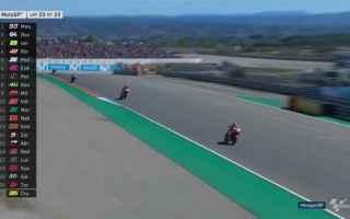 Marc Marquez ad Aragon, da il colpo da ko al mondiale, aumentando a 72 punti, il vantaggio su Andrea