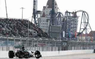 Formula 1: formula 1  russia  sochi
