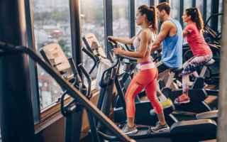 Fitness: allenamento  articolazioni  ellittica