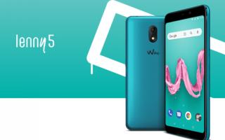 wiko  wiko lenny 5  android go  tech  go