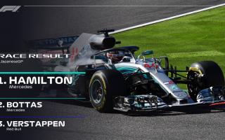 Dominio assoluto di Lewis Hamilton, che con la quarta vittoria consecutiva, si avvicina sempre di pi