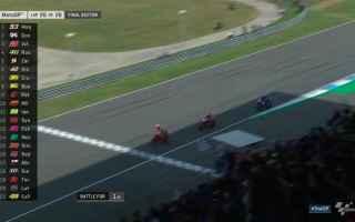 Nuovo grande duello, fra Marquez e Dovizioso, che nel finale di gara hanno regalato, un bellissimo s