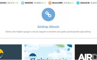 Soldi Online: bitcoin  altcoin  airdrop  btcfree