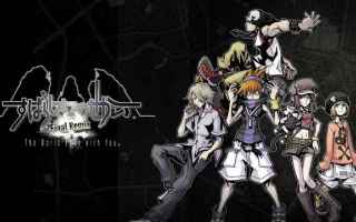 Console games: theworldendswithyou squareenix games