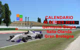 wseries  dtm  f1  calendario