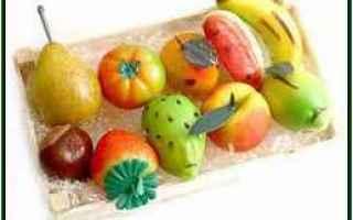 frutta martorana  marzapane  zucchero