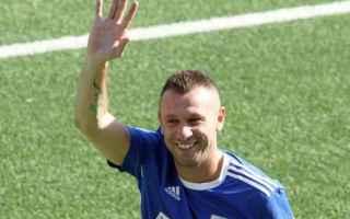 Calcio: cassano  bari  inter  milan  roma  juve
