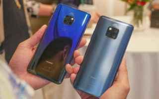 Huawei ha annunciato ufficialmente i nuovi Mate 20, Mate 20 Pro e Watch GT. I due nuovi dispositivi