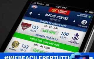 File Sharing: footy  app  streaming  calcio  soccer