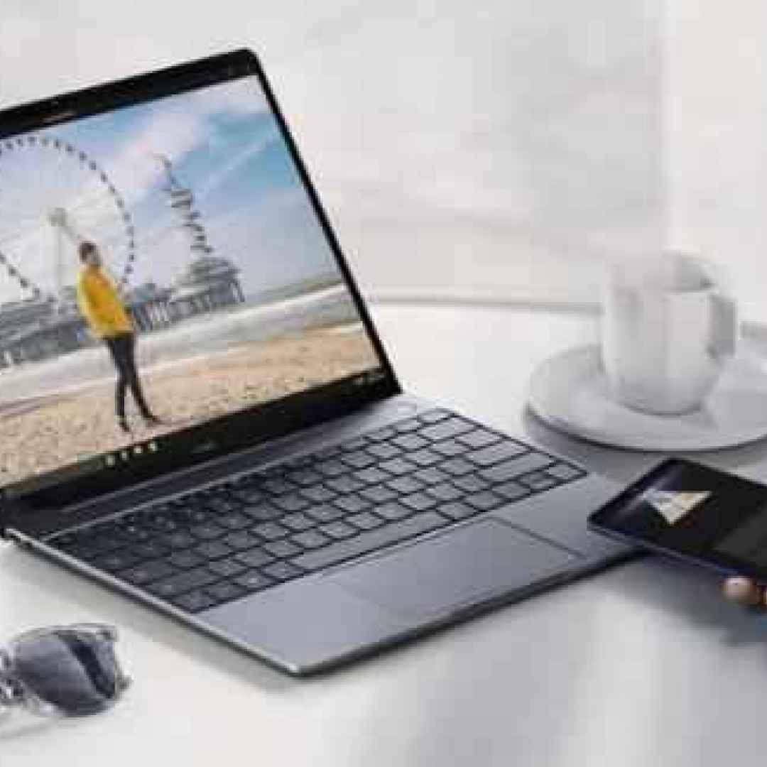 Huawei MateBook 13, ultrabook Windows 10 con 10 ore di autonomia