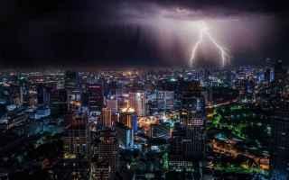 Foto: fotografia fulmine temporale
