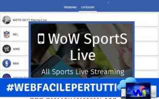 App: wow sports live app streaming