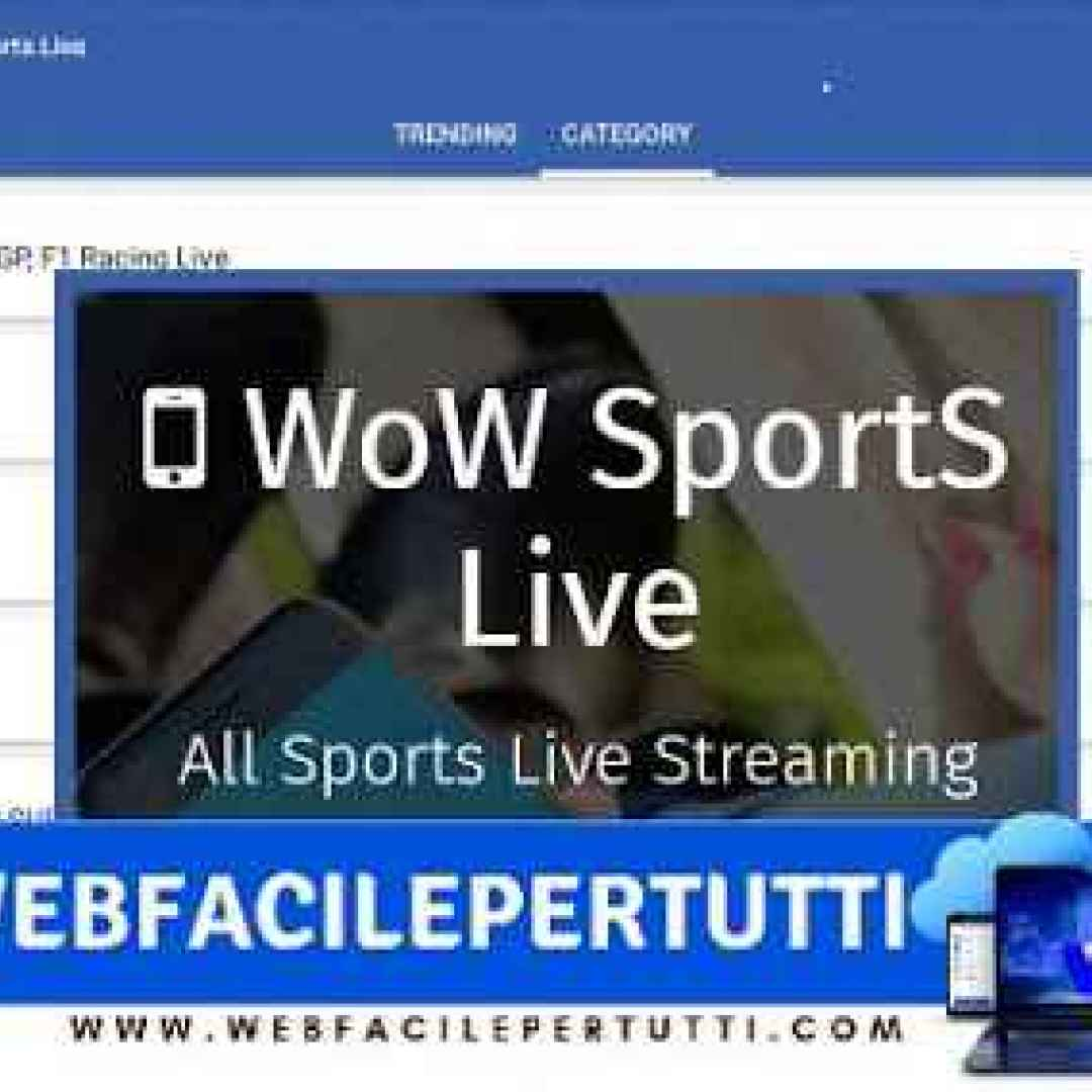 wow sports live app streaming