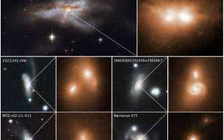 Astronomia: Coppie di buchi neri supermassicci scoperte nel corso di fusioni galattiche