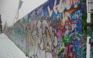 dal Mondo: muro di berlino  muri nel mondo  9.11