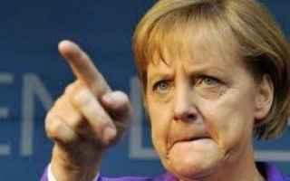 dal Mondo: merkel  ue  germania  euro