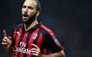 Serie A: higuain  milan
