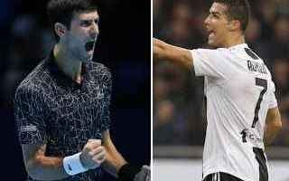 tennis grand slam ronaldo djokovic