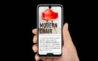 smartphone  sharp