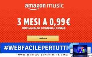 Amazon: amazon music unlimited offerta musica