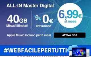 Telefonia: all-in master digital offerta tre