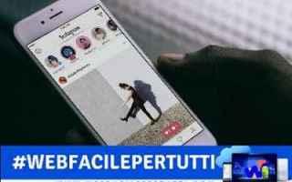 Instagram: instagram funzionalità non vedenti