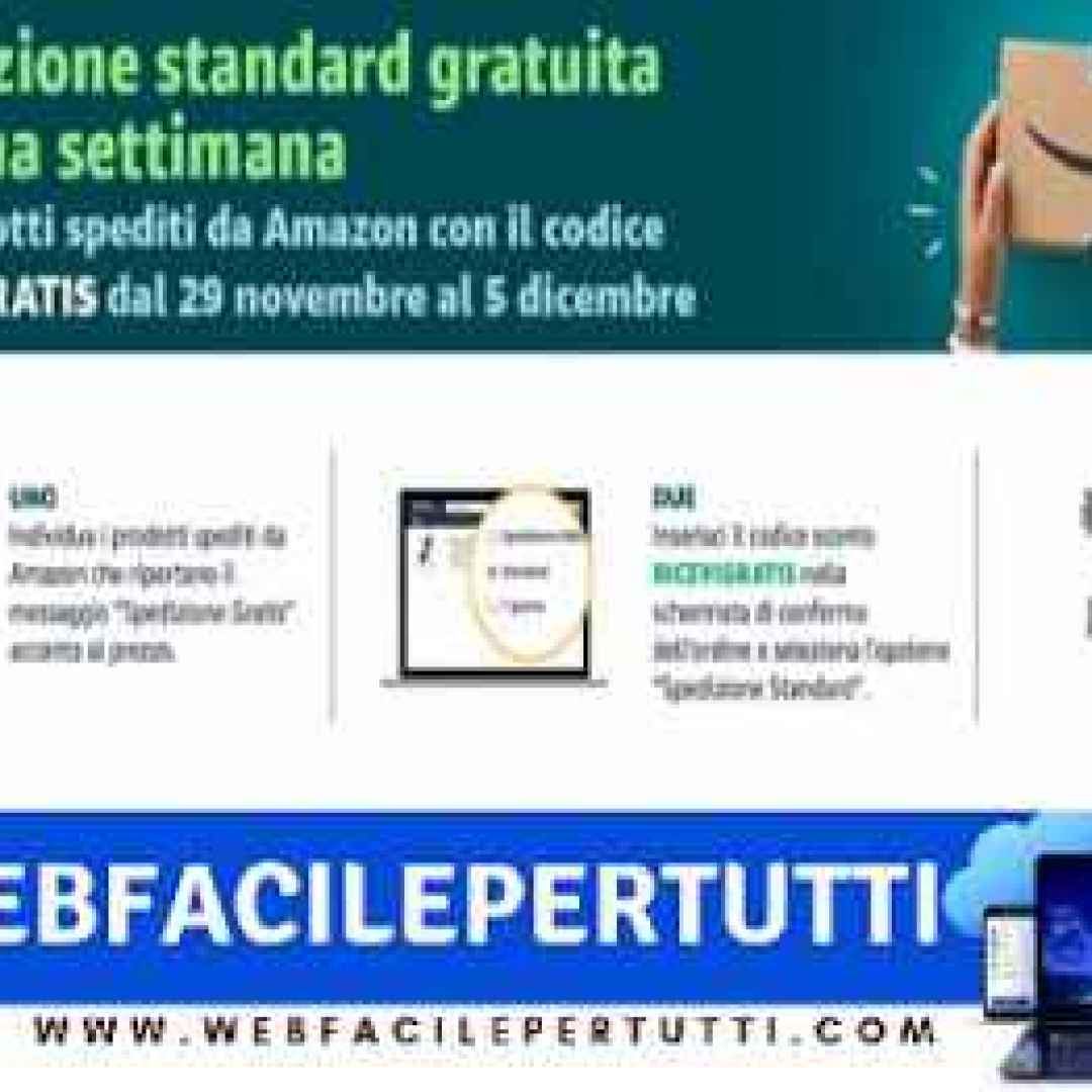 513455f8ac037b Amazon) Spedizione gratuita per tutti fino al 5 dicembre (Amazon)