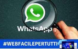 WhatsApp: whatsapp anonimato trucco