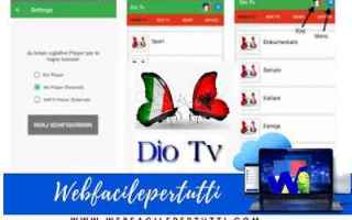 File Sharing: dio tv dio tv apk app iptv streaming
