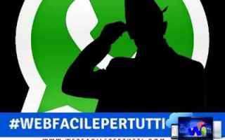 WhatsApp: whatsapp scoprire numero rubrica