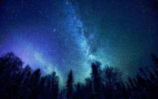 fotografia stelle cielo universo