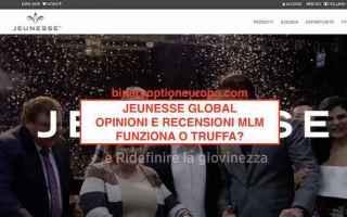 Borsa e Finanza: jeunesse  mlm  truffa  scam  ponzi