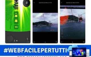 huji cam  app  foto