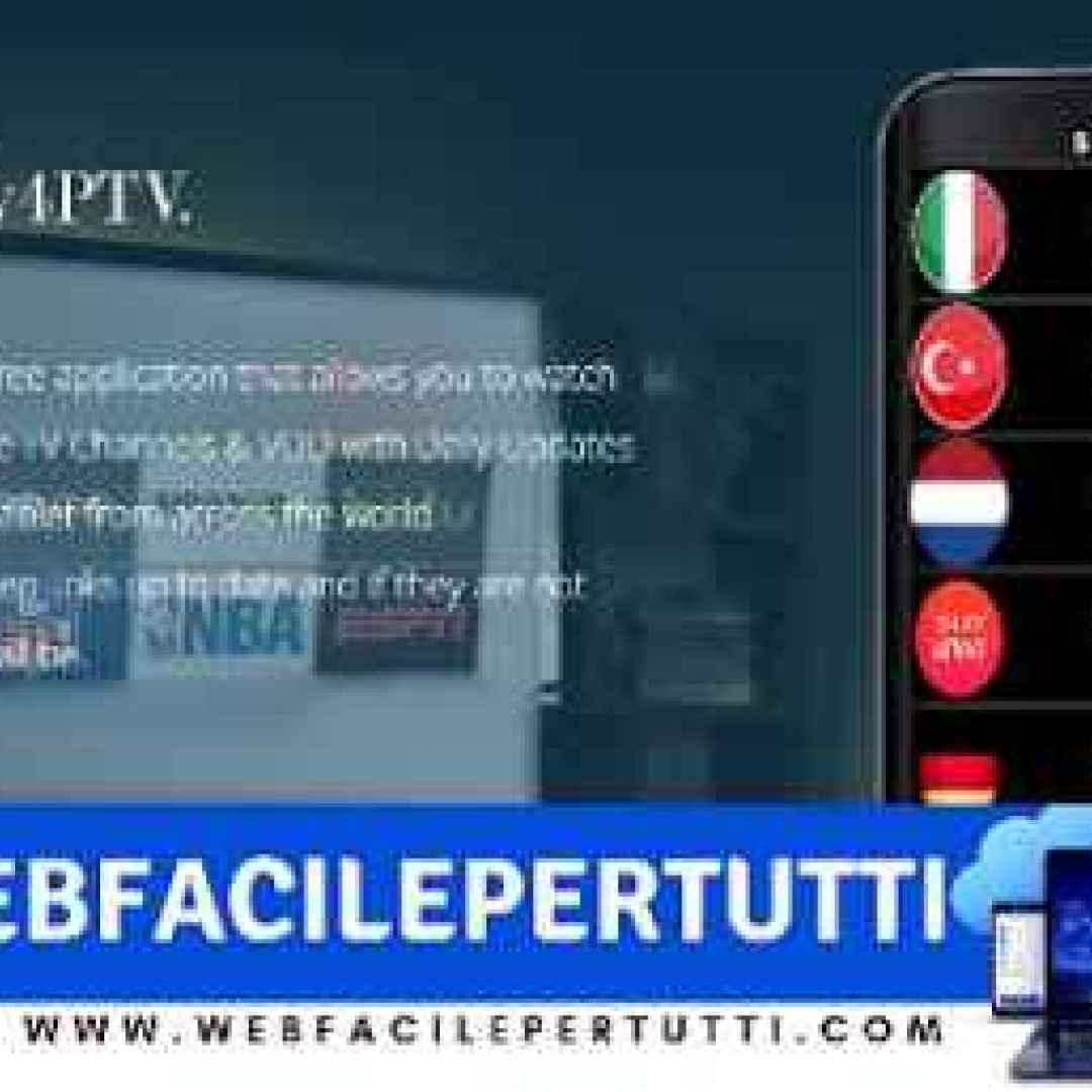 (DAILY 4PTV Apk) Applicazione IPTV Con 5000 Canali Live