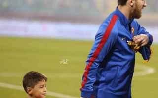 Calcio: murtaza  messi  afghanistan  barcellona