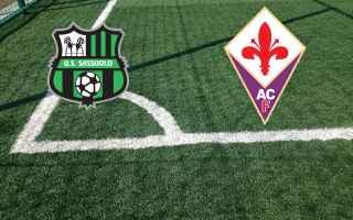 Serie A: sassuolo fiorentina calcio gol video