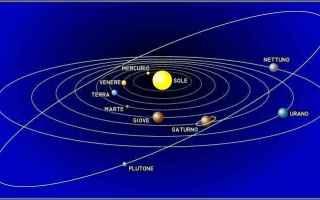 sistema solare  sole  terra  venere