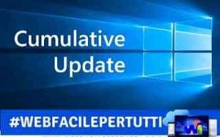 Computer: windows aggiornamento comulativo