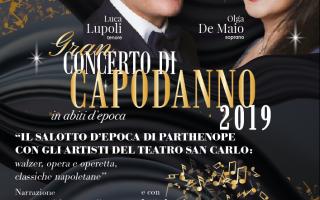 Napoli: capodanno2019  concerto  noi per napoli