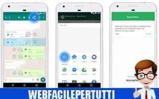 app converte messaggi whatsapp speechles
